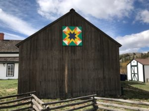 quilt square at Cozens Ranch Museum