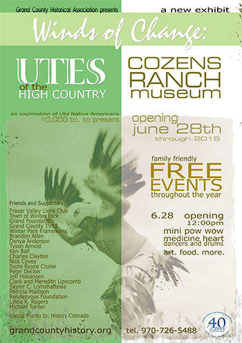 Ute Exhibit Poster
